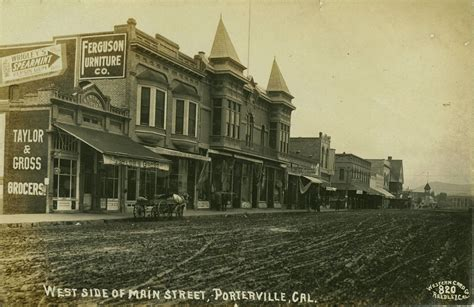 Office Depot Visalia by Porterville Ca Circa 1910 It Appears That