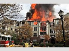 Raw video Atlanta apartment fire Statter911