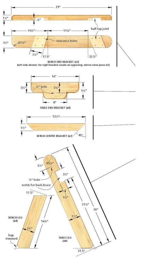 bench  converts   picnic table diy plans