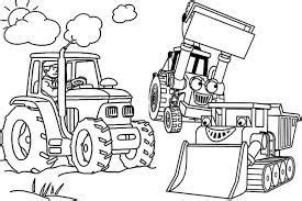 image result  tractor colouring pages kinder