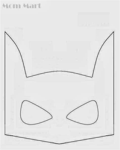 batman mask template mart batman birthday with printables