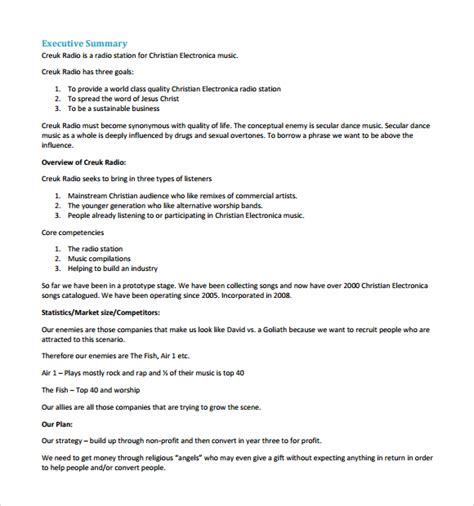 Business Plan Template Pdf Business Plan Pdf