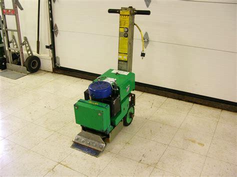 electric floor scraper linoleum blastrac bs110 self propelled electric floor scraper tile