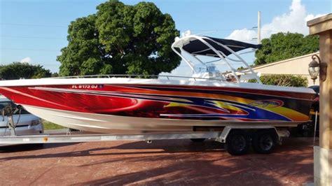 Boat Lettering In Miami by Boat Wrap Wraps Boat Lettering Florida Miami