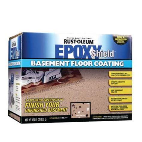 Rust Oleum Epoxy Shield 1 gal. Basement Gray Floor Coating
