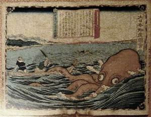 Japanese Squid Painting   www.pixshark.com - Images ...