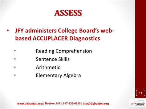 Presentation Accuplacer 2011 Website