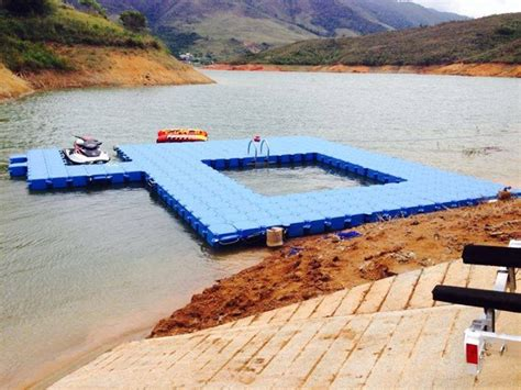 Swimming Pontoon by Gallery Floats Ahoy