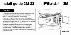 Filtrete Thermostat Wiring Diagram