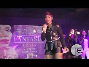 """Fantasia Smashes Impromptu Performance of """"Lose to Win"""" at ..."""