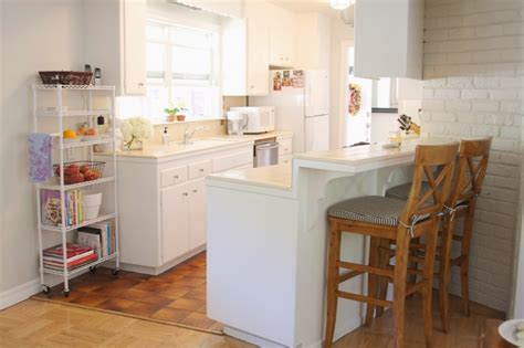 how to design kitchen cabinets in a small kitchen the most of an cabinet simply organized 9896