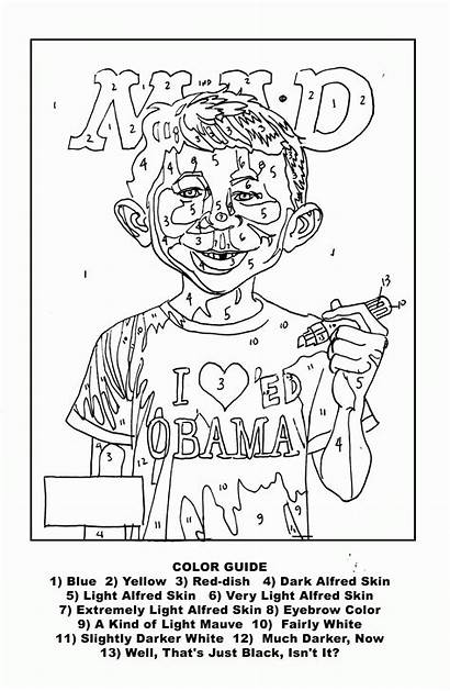 Numbers Paint Adults Printable Coloring Pages Popular