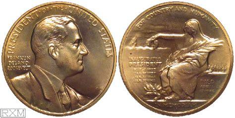 franklin  roosevelt tillicums  coins tokens  medals
