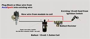 Ignition Coil Ballast Resistor Wiring Diagram Within Ignition Coil Ballast Resistor Wiring