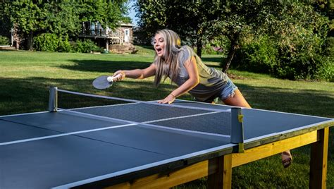 outdoor ping pong table buildsomethingcom