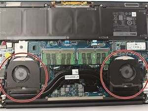 Dell Xps 15 9550 Cooling Fan S  Replacement