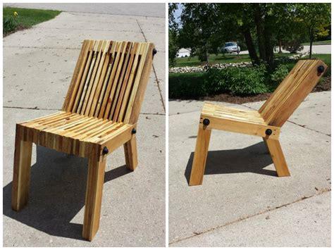 3 chaises en palette 224 fabriquer