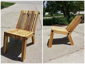 Fabriquer Un Fauteuil : 3 chaises en palette fabriquer ~ Zukunftsfamilie.com Idées de Décoration