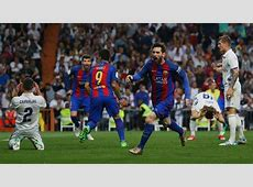 Lionel Messi scores twice as Barcelona beat Real Madrid 3