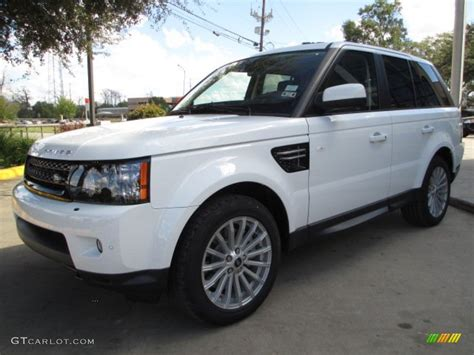 land rover hse white fuji white 2013 land rover range rover sport hse exterior