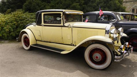 Vintage American Classic Car, Buick Coupe, 1929 Editorial