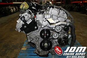 08 12 Toyota Avalon 3 5l V6 Vvti Engine Fwd Auto Trans Jdm