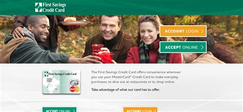 Is provided to its existing customers via which they can pay credit card bills and manage their credit card activities online. firstsavingscc.com - Payment Process For First Savings Credit Card Bill