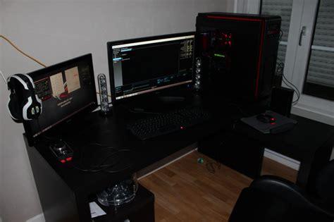 bureau gamer bureau pour pc gamer le coin gamer
