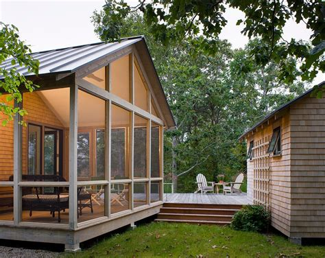 decorating screened porch contemporary with resistant adirondack chairs