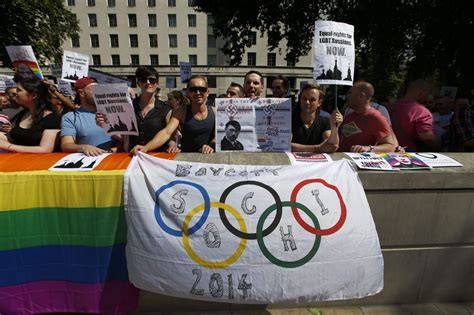 Lets All Help To Make Sochi Olympics The Gay Games