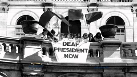 gallaudet university deaf president   years youtube
