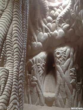 ojo caliente nm los nidos art caves  transition