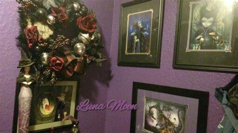 Horror Themed Decor Maleficent & Evil Queen Art