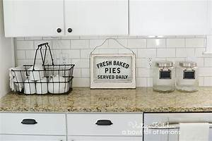 Adding vintage character to a new kitchen A Bowl Full
