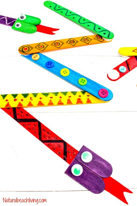 10 amazing rainforest crafts can make 280   snake crafts preschoolers pin2text