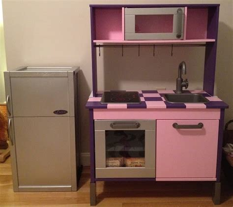 play kitchen storage ikea hackers duktig kitchen goes from bland to bling 1550