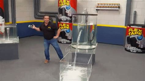 Flex Tape Boat In Half by Flex Tape Know Your Meme