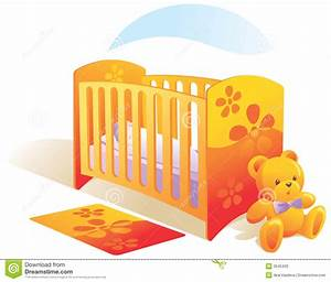 Baby's Room, Nursery, Cot, To Stock Vector - Illustration ...