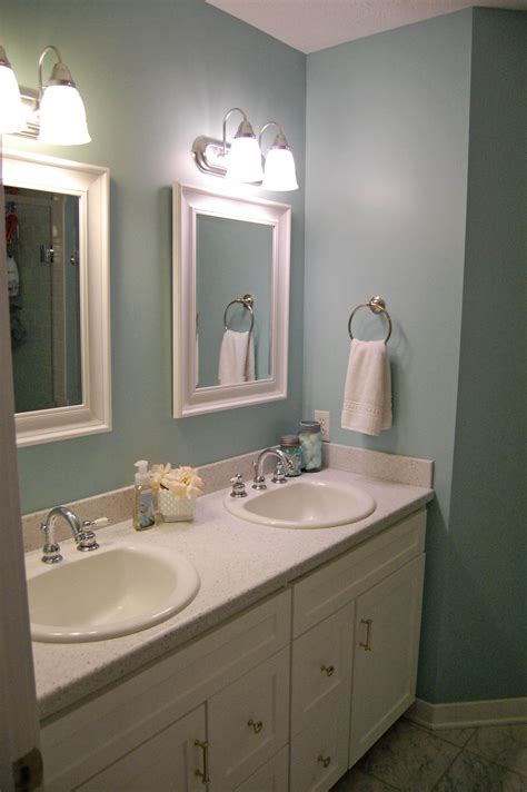 What Color Should I Paint My Bathroom Cabinets by The Big Bathroom Reveal 2 Bathroom Colors Room Paint