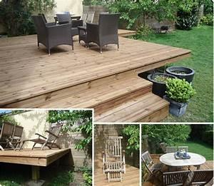 terrasse en bois exotique ipe versailles With terrasse sur pilotis en bois