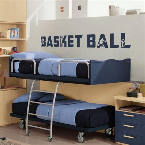 chambre basket stickers stickers chambre enfant basket texte