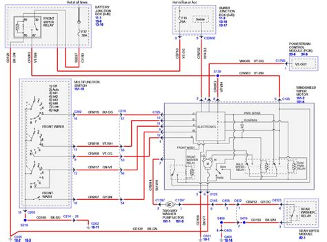 1996 ford f150 radio wiring color diagram wiring library