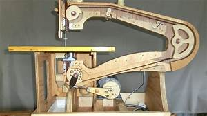 Mikiono's homemade scrollsaw - YouTube
