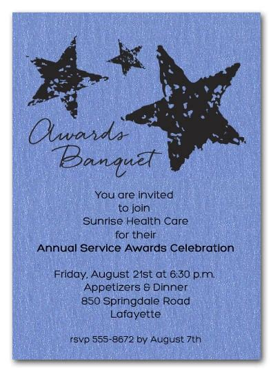 Stars On Blue Shimmery Business Awards Invitations. Class Schedule Excel Template. Job Application Template Word Document. Cute Book Covers. Flyer Design Software. Seattle University Graduate Programs. Online Lesson Plan Template. Progressive Insurance Card Template. Service Invoice Template Excel