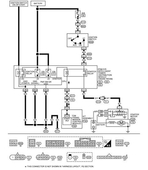 Starter Motor Diagram 2003 Nissan 350z Car To Starter Motor by Repair Guides