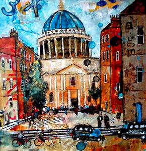 St Paul's Cathedral, London by British Contemporary Artist ...
