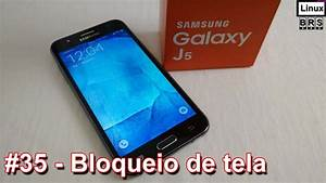 Samsung Galaxy J5 - Bloqueio De Tela  Tipos