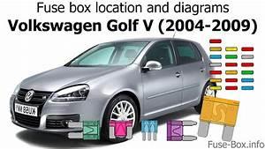 Fuse Box Location And Diagrams  Volkswagen Golf V  Mk5  2004-2009