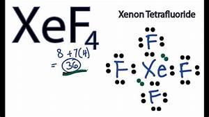 Xef4 Lewis Structure