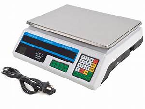 Digital Weight Scale 60LB Price Computing Food Meat Scale ...